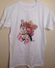 "80's Jose Cuervo Tequila T-Shirt - Sz: M - White - ""Joe Cuervo"" - Sombrero - Bar"