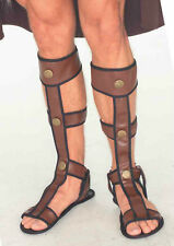 ADULT ROMAN GLADIATOR SANDALS SHOES MEDIEVAL VIKING EGYPTIAN COSTUME SANDALS