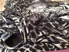 Shirt Bb Brittany Size X L Black Sleeveless Animal Print Grey Black Top Lined