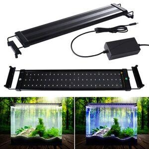 29-180cm Aquarium LED Light Full Spectrum Aqua Plant Fish Tank Lamp Lighting AU