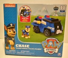 NEW Paw Patrol CHASE, Transforming  Police Cruiser