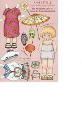 Mary Engelbrite Paper Doll Print Uncut Ann Estelle Feb/Mar 2003 New