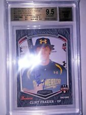CLINT FRAZIER 2012 Bowman Under Armour All American Auto RC BGS 9.5 #008/220