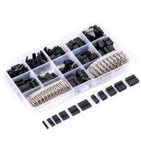 620pcs Dupont Wire Jumper Pin Header Connector Housing Kit + M/F Crimp Pins