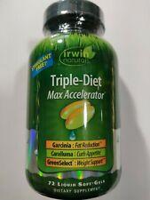 Irwin Naturals Triple-Diet Max Accelerator 72 Liquid Soft-Gels