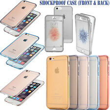 360 Dust-proof Shockproof Full Body Silicone Case Cover For Apple iPhone 5 5s