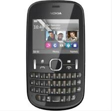 Original Nokia Asha 200 2MP Dual SIM 2G GSM 900 1800 QWERTY Keyboard Smartphone