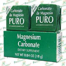 Magnesium Carbonate 2 Blocks / Carbonato de Magnesio Puro 2 bloques
