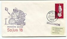1975 Sojus 18 Sterwarte Bochum Deutsche Bundespost Drucksache West Germany SPACE