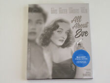 All About Eve (Blu-ray, Criterion) Joseph Mankiewicz, Bette Davis, Anne Baxter