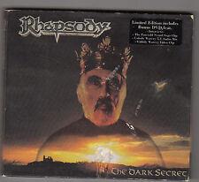 RHAPSODY - the dark secret CD + DVD