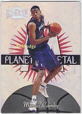 1997-98 METAL UNIVERSE PLANET METAL: MARCUS CAMBY #6 RAPTORS ALL-DEFENSIVE TEAM
