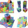 36pcs Alphabet Numbers Baby Kids Educational Toy Soft Foam Play Mat Floor Mat
