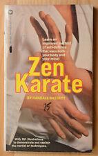 Zen Karate book by Randall Bassett 1st Ed. PB