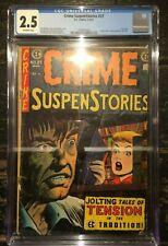 Crime SuspenStories #27 CGC 2.5 EC Comics