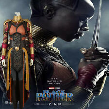 New movie Black Panther Okoye Cosplay Costume full suit Hallowmas any size