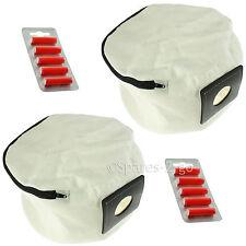 2 x cerniera riutilizzabili per Aspirapolvere Hoover Sacchetto + deodoranti per aspirapolvere Numatic Henry Hetty James