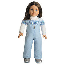 American Girl Chrissa's SNOW OUTFIT Sweater Pants Boots Set DOLL is NOT INCLUDED
