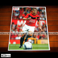 MICHAEL OWEN (MANCHESTER UNITED) - Poster Football #PM825