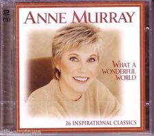 Heartland Music ANNE MURRAY What a Wonderful World Inspirational Classics 2 CD