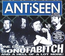 One Live Sonofabitch...And a Hell of a Lot More! [PA] by ANTiSEEN (CD, Apr-2005, 3 Discs, Steel Cage Records)