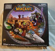 NEW World of WarCraft Barrens Chase Mega Bloks Building Set - 91025 - 128 pc