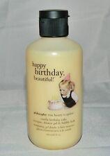 Philosophy Vanilla Birthday Cake Shampoo Shower Gel Bubble Bath 6 oz