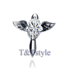 Quality T/&T 316L Stainless Steel Earring Single EZ26