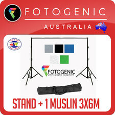 NEW Backdrop Background Stand package kit with 1 muslin