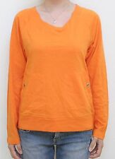 B By Burton Fair Lady Knit Top (Apricot Orange) L