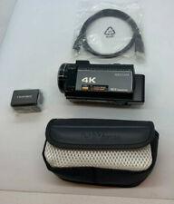 Melcam Video Camera 4K Camcorder Ultra Hd 48Mp WiFi Ir Camera Hdv-214K