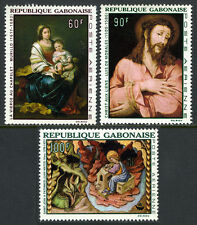 Gabon C64-C66, MNH. Paintings by Murillo,Luis de Morales,Juan Mates, 1968