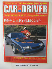 Car and Driver Magazine   December  1982  What Goes Best In Snow?