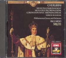 CHERUBINI - Coronation Mass / Marche Religieuse - Riccardo MUTI - EMI