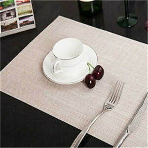 Kitchen Placemat Dining Table Mat Adiabatic Pads Cup Mats Home Dining Decor FW