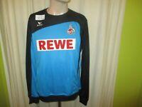 """1.FC Köln erima Spieler Freizeit-Training Sweatshirt/Pullover 16/17 """"REWE"""" Gr.M"""