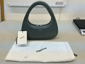 Coperni Baguette Swipe Bag in Green Slate