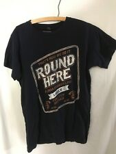 Florida Georgia Line Tour T-Shirt Small Round Here Black Concert Lager Beer FGL