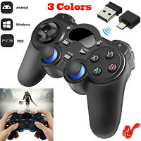 2.4G Wireless Gamepad Android Controller Joystick For PC TV box Phone Tablet New
