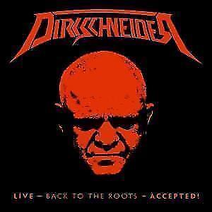 Dirkschneider - Live - Back To The Roots - Accepted! (DVD+ 2CDs Digi) neu (2017)