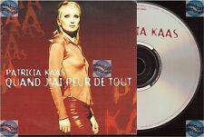 PATRICIA KAAS QUAND J'AI PEUR DE TOUT CD SINGLE