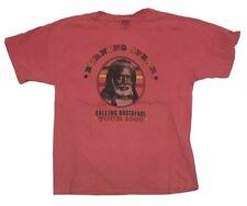 New listing Vintage Burning Spear 2000 Tour Concert Rastafari 2 Sided Tour Shirt 90s Reggae