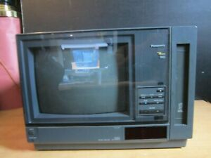 Rare 1989 Panasonic AG-550 VHS Monitor Player Combo-Excellent Condition-See Pic