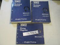 2002 FORD MUSTANG Wiring Diagrams & Service Manuals Manual  OEM