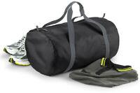 BagBase Packaway Barrel Bag Foldable Holdall Sports Gym Travel Duffle (BG150)