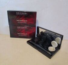 LOT OF 2 MAKE UP FOR EVER  BLACK TANGO PALETTE 4 WATERPROOF CREAM COLOR PALETTE