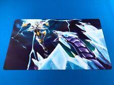 Crystal Wing Synchro Utopia LIghtning Playmat - Brand New Yu-Gi-Oh! Custom UK