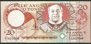 Tonga P-35 1995 20 Paanga UNC Rare