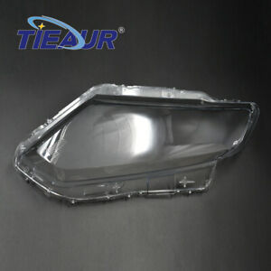 Right Side Front Headlamp Headlight Lens Cover Fit For Nissan X-Trail 2014-2017