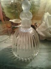 "Vintage 1979- Goebel "" Praying Boy"" Frosted Heavy Crystal Germany Bell ~ 6"""